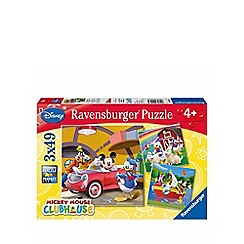 Mickey Mouse Clubhouse - Jigsaw puzzles 3 x 49 pieces