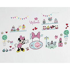 Minnie Mouse - Ding dong doorbell wall stickers