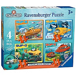 Octonauts - 4 in 1 jigsaw puzzles