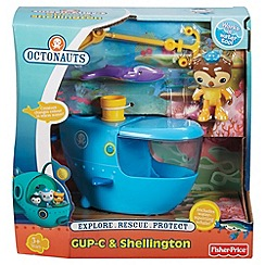 Octonauts - Gup-C and shellington