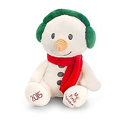 Keel - Cuddly  My 1st Christmas  snowman toy