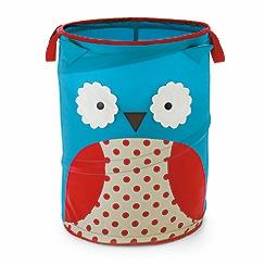 Skip Hop - Zoo Pop-Up Owl Hamper Storage Bin