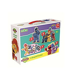 The Furchester Hotel - 4 in 1 Shaped Jigsaw Puzzles