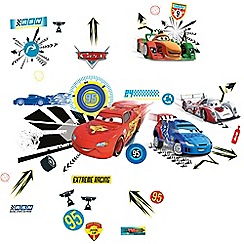 Disney Cars - Ding dong  doorbell wall stickers