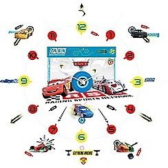 Disney Cars - Tick tock clock wall stickers