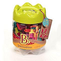 B. - Stackadoos - bristle block