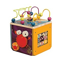 B. - Underwater zoo activity cube