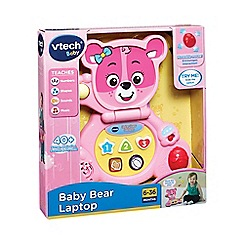VTech Baby - Bear laptop pink