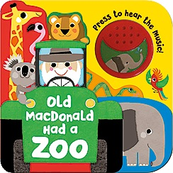 Parragon - Old Macdonald Had a Zoo layered book & sound