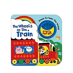 Parragon - Wheels on the train layered book & sound