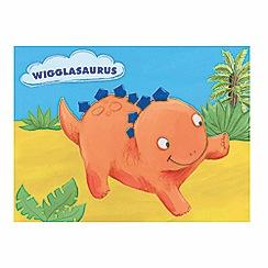 Parragon - Wigglasaurus lenticular board book