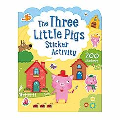 Parragon - Three little pigs sticker activity
