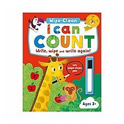 Parragon - I can count wipe clean activity book