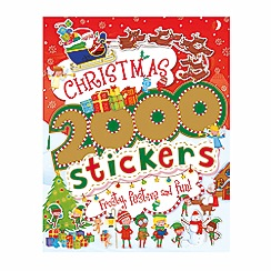 Parragon - Christmas 2000 stickers book