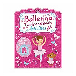 Parragon - Ballerina shaped activity book