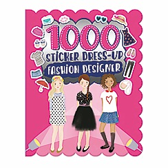 Parragon - 1000 sticker dress-up fashion designer book