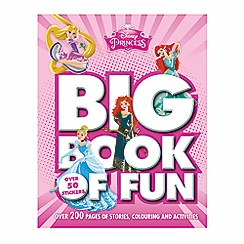 Disney Princess - Big book of fun