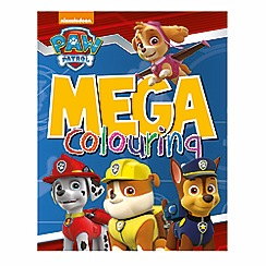 Paw Patrol - Mega colouring book