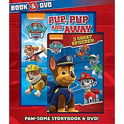 Parragon - Nickelodeon Paw Patrol Book And Dvd