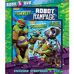 Parragon - Teenage Mutant Ninja Turtles Book and DVD