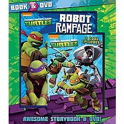 Parragon - Teenage Mutant Ninja Turtles Book and DVD