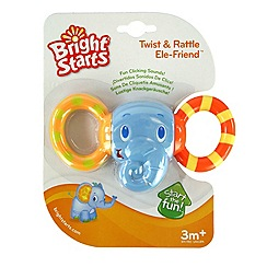 Bright Starts - Twist & Rattle Ele-Friend