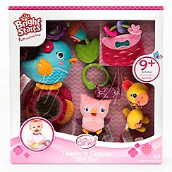 Bright Starts - Pretty In Pink Tweets 'n Giggles Gift Set