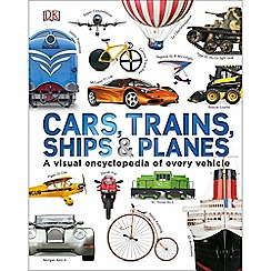 Dorling Kindersley - Cars Trains Ships and Planes