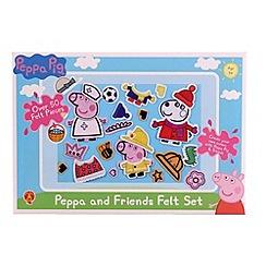 Peppa Pig - Felt set