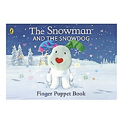 The Snowman - Finger Puppet Book