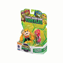 Teenage Mutant Ninja Turtles - Half-shell heroes 2 pack - dogpound and fishface