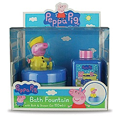 Peppa Pig - Bath fountain and bubble bath