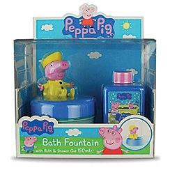 Peppa Pig - Bath fountain and bubble bath