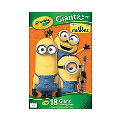 Crayola - Minions giant coloring pages