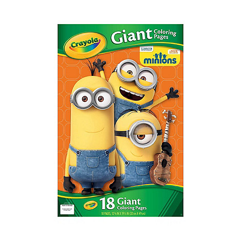 Crayola Minions Giant Coloring Pages