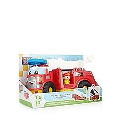 Mega Bloks - Firetruck Finn toy