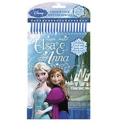 Disney - Elsa & Anna' Colour Your Own Stickers