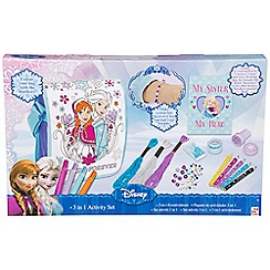 Disney Frozen - 3 in 1 creativity set