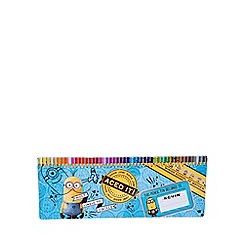 Despicable Me - 50 piece colouring pencil tin
