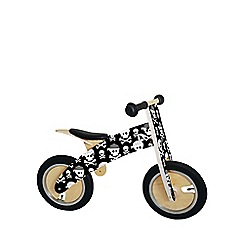 kiddimoto - Skullz Kurve wooden bike