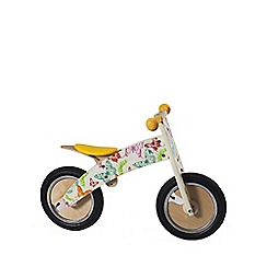 kiddimoto - Butterflies Kurve wooden bike
