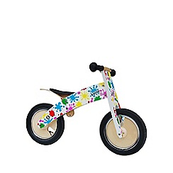 kiddimoto - Splatz Kurve wooden bike