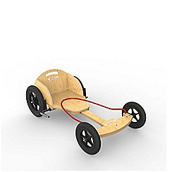 kiddimoto - Natural Boxkart