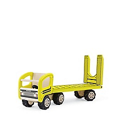 Pintoy - Wooden low loader