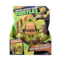 Teenage Mutant Ninja Turtles - Battle Shell Michelangelo Figure