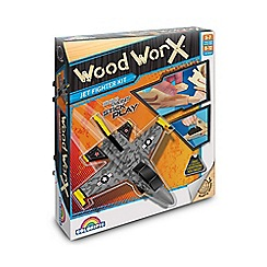 Wood Worx - Jet fighter kit
