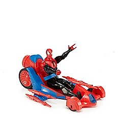 Spider-man - Figure with turbo racer vehicle