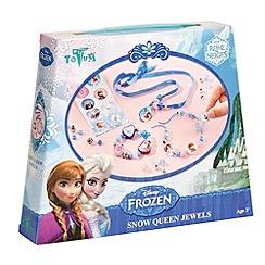 Disney Frozen - Snow queen jewels creativity set
