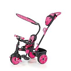 Little Tikes - 4-In-1 Trike Deluxe Edition - Neon Pink