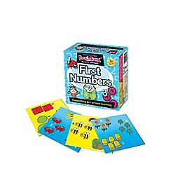 The Green Board Game Co - BrainBox First Numbers